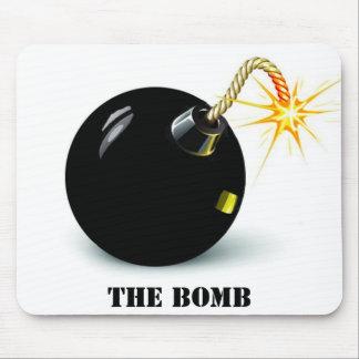 bom, the bomb mouse pad