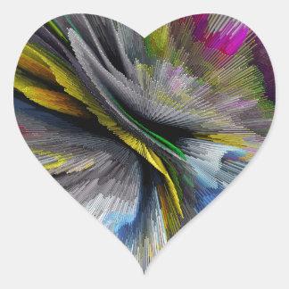 bomb #2 heart sticker