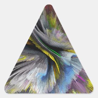 bomb #2 triangle sticker