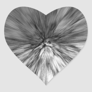 bomb #4 heart sticker
