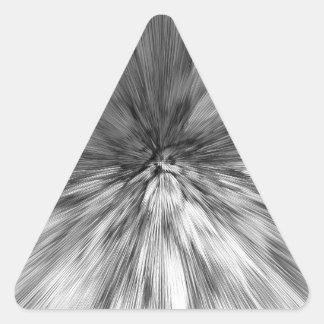 bomb #4 triangle sticker
