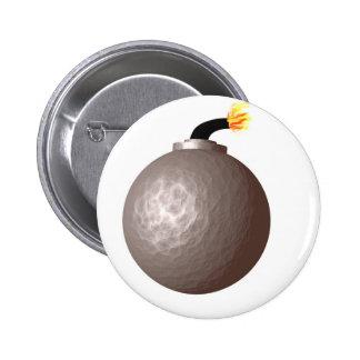 Bomb 6 Cm Round Badge