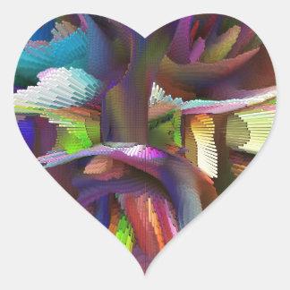 bomb #8 heart sticker