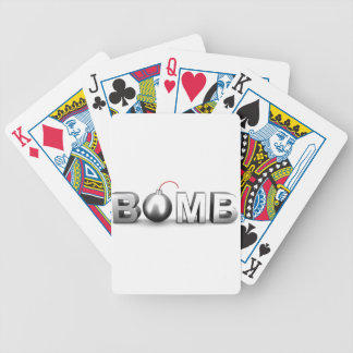 Bomb Bicycle Playing Cards