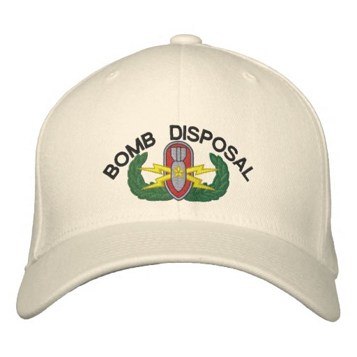 Bomb Disposal Senior EOD Baseball Cap
