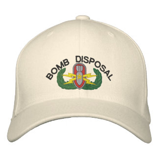 Bomb Disposal Senior EOD Embroidered Hats