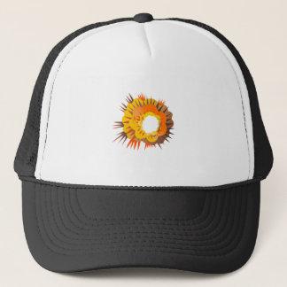 Bomb Explosion Retro Trucker Hat