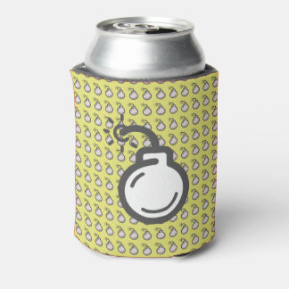 Bomb Icon Can Cooler