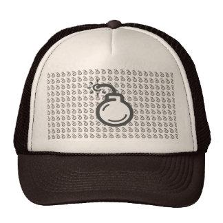 Bomb Icon Cap