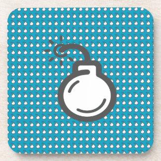 Bomb Icon Coaster