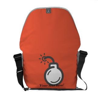 Bomb Icon Commuter Bag