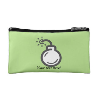 Bomb Icon Cosmetic Bag