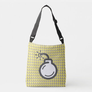 Bomb Icon Crossbody Bag