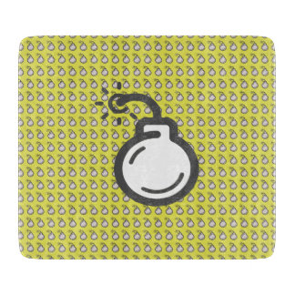 Bomb Icon Cutting Board