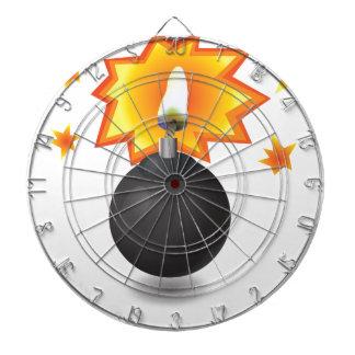 Bomb Icon Dartboard