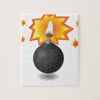 Bomb Icon Jigsaw Puzzle