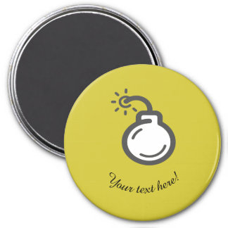Bomb Icon Magnet