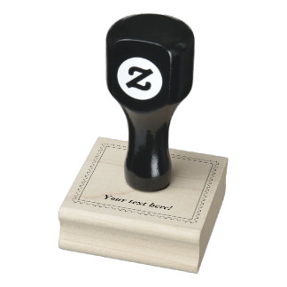 Bomb Icon Rubber Stamp