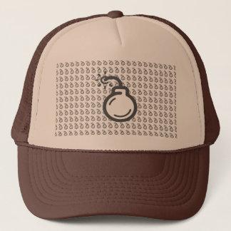 Bomb Icon Trucker Hat