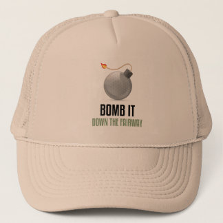 Bomb it Down the Fairway Trucker Hat
