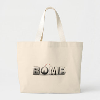 Bomb Large Tote Bag