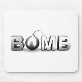 Bomb Mouse Pad
