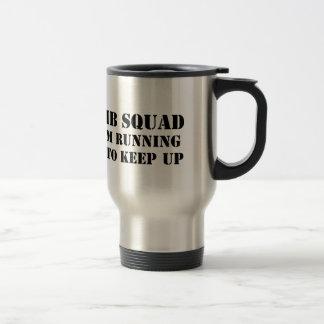 bomb stainless steel travel mug
