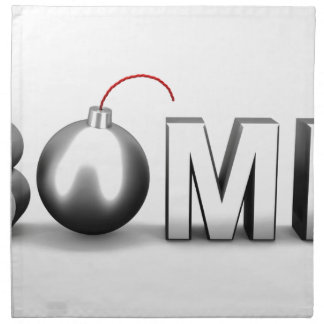 Bomb Napkin