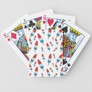 Bomb Pop Pattern Bicycle Playing Cards