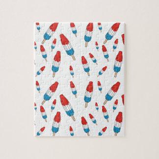 Bomb Pop Pattern Jigsaw Puzzle