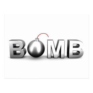 Bomb Postcard
