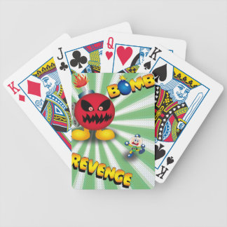 Bomb Revenge Bicycle Playing Cards