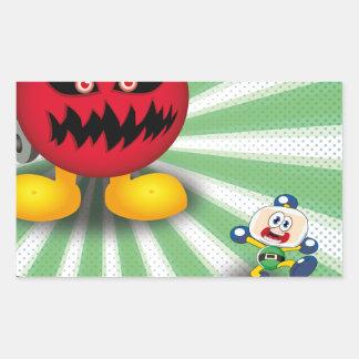 Bomb Revenge Rectangular Sticker