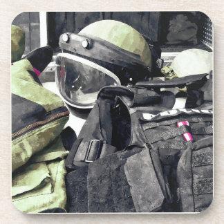 Bomb Squad Uniform Coaster