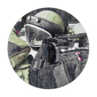 Bomb Squad Uniform Cutting Board