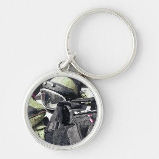 Bomb Squad Uniform Key Ring