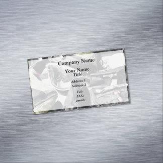 Bomb Squad Uniform Magnetic Business Cards