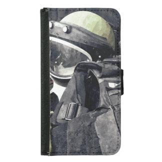 Bomb Squad Uniform Samsung Galaxy S5 Wallet Case