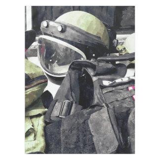 Bomb Squad Uniform Tablecloth