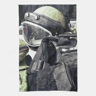 Bomb Squad Uniform Tea Towel