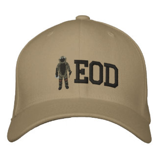 Bomb Suit Embroidered Hats