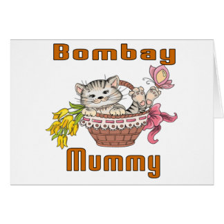 Bombay Cat Mom Card