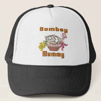 Bombay Cat Mom Trucker Hat