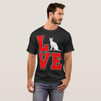 Bombay Cat Pets Love Gift Tshirt