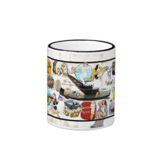 Bomber Nose Art -WW II Coffee Mugs