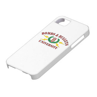 Bombs & Bullets University iPhone 5 Covers