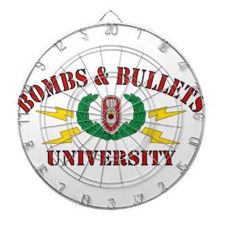Bombs Bullets University Dartboards