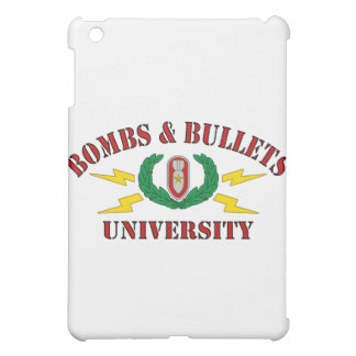 Bombs & Bullets University Cover For The iPad Mini