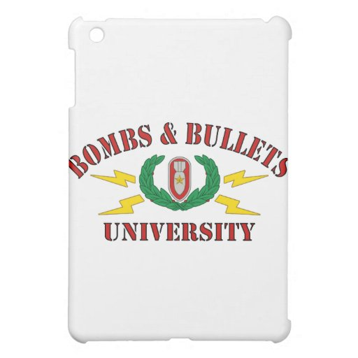 Bombs & Bullets University Cover For The iPad Mini