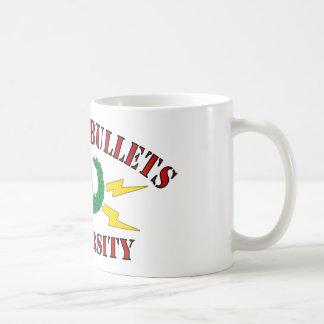 Bombs & Bullets University Coffee Mugs
